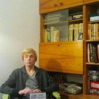 Photo taken at Cafe Roskosz by Tomasz K. on 11/26/2012