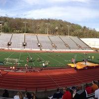 Photo taken at University of Charleston Stadium at Laidley Field by Randy H. on 4/10/2015