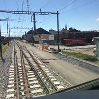 Photo taken at Bahnhof Muri by Paul S. on 7/4/2016