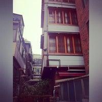 Photo taken at Bangrang Hostel by Azry J. on 2/28/2013