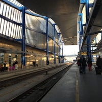 Photo taken at RENFE Estació Lleida - Pirineus by Andrea F. on 10/3/2012