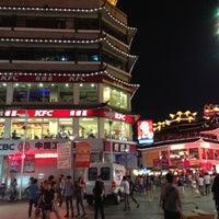 Photo taken at 东门步行街 Dongmen Pedestrian Zone by Kasem T. on 5/25/2013