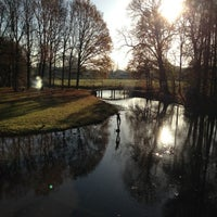 Photo taken at Kasteel Oud Poelgeest by Dash &. on 11/22/2012