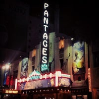 Photo taken at Pantages Theatre by Caryn B. on 1/16/2013