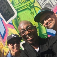 Photo taken at Graffiti Hall Of Fame by Cristian B. on 5/20/2016