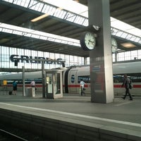 Photo taken at Munich Main Railway Station by Florian E. on 6/19/2013