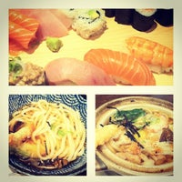 Photo taken at Aki Japanese Restaurant by Agnès T. on 6/12/2013