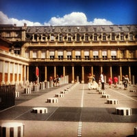 Photo taken at Palais Royal by Mani B. on 8/3/2013