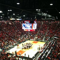 Photo taken at Viejas Arena by Paula S. on 12/7/2012
