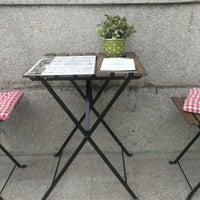 Photo taken at Marica Café-Bar & Restaurant by Balázs K. on 6/18/2014