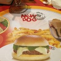 Photo taken at New Dog Hamburger by Priscilla N. on 3/17/2013