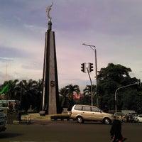 Photo taken at Tugu Kujang Bogor by Muhammad S. on 1/10/2012