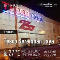 Photo taken at Tesco Extra Seremban Jaya by Shawn C. on 1/29/2013