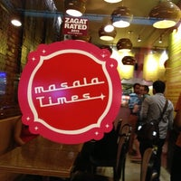 Photo taken at Masala Times by Bobby A. on 10/6/2012