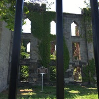 Photo taken at Smallpox Hospital by Rich C. on 5/28/2016