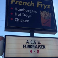 Photo taken at French Fryz by Bart F. on 1/18/2014