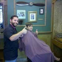Photo taken at Tweed Barbers of Boston by Kris T. on 8/20/2013