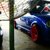 Photo taken at Azeez Car Wash by Syukri B. on 6/11/2013