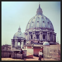 Photo taken at St. Peter's Basilica by Alena V. on 7/15/2013