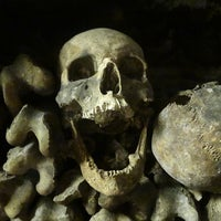 Photo taken at Catacombs of Paris by Gabriel F. on 7/3/2013