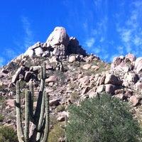 Photo taken at Pinnacle Peak Park by Erin K. on 11/16/2012