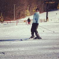 Photo taken at Victor Constant Ski Slope by Kristin S. on 1/27/2013