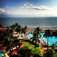 Photo taken at CasaMagna Marriott Puerto Vallarta Resort & Spa by Karim M. on 10/3/2012