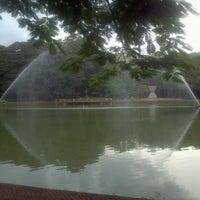 Photo taken at Bosque dos Buritis by Rafaella D. on 4/4/2013