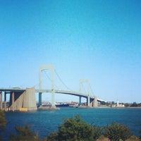 Photo taken at Throgs Neck Bridge by Joe S. on 9/22/2013