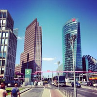 Photo taken at Potsdamer Platz by Vladlen E. on 7/6/2013
