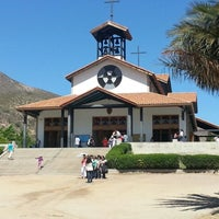 Photo taken at Santuario Santa Teresita de los Andes by Karen U. on 11/18/2012
