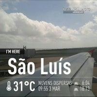 Photo taken at Aeroporto Internacional de São Luís / Marechal Cunha Machado (SLZ) by Wlamir Penna on 3/3/2013