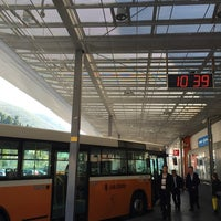 Photo taken at Autobusni Kolodvor Dubrovnik | Dubrovnik Bus Station by Hoya (ChulHo) S. on 11/24/2014