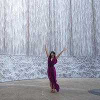 Photo taken at Gerald D. Hines Waterwall Park by Richard H. on 5/6/2013