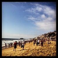 Photo taken at Sector 3 - Playa Reñaca by Rodrigo C. on 1/26/2013