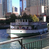 Photo taken at Chicago Architecture Foundation River Cruise by Lauren on 10/8/2012