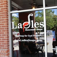 Photo taken at Ladles Homemade Soups by Phillip G. on 8/11/2013