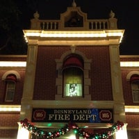 Photo taken at Disneyland Fire Department No. 1 by Heather W. on 12/7/2012