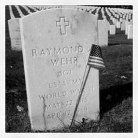 Photo taken at Wood National Cemetery by Chrisito on 10/4/2012
