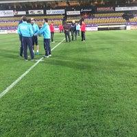 Photo taken at Soevereinstadion | Lommel United by Aaron V. on 11/7/2015
