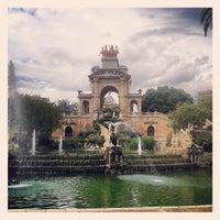 Photo taken at Parc de la Ciutadella by Alejandra C. on 5/28/2013