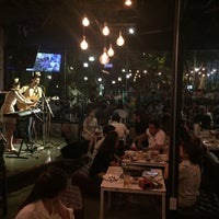 Photo taken at ThonBuri Garden Bar & Restaurant by Patchara K. on 7/30/2016