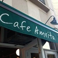 Photo taken at Cafe Amrita by Vivian N. on 10/21/2012