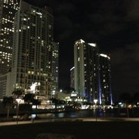 Photo taken at Miami Circle Park by Daniel G. on 11/28/2012