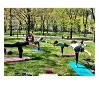 Photo taken at Central Park West by William C. on 4/27/2013