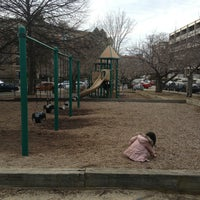 Photo taken at Shubow Park by Po-Lin C. on 3/16/2013