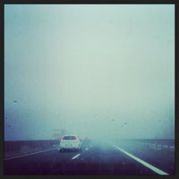 Photo taken at Autostrada A13 by Valerio T. on 2/13/2014