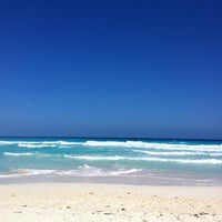 Photo taken at Playa Marlin by Avril A. on 2/24/2013