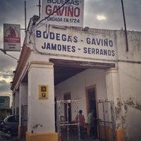 Photo taken at Bodegas Gaviño by Pedro José M. on 8/27/2013