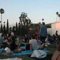 Photo taken at Hollywood Forever Cemetery by Flora C. on 8/19/2013